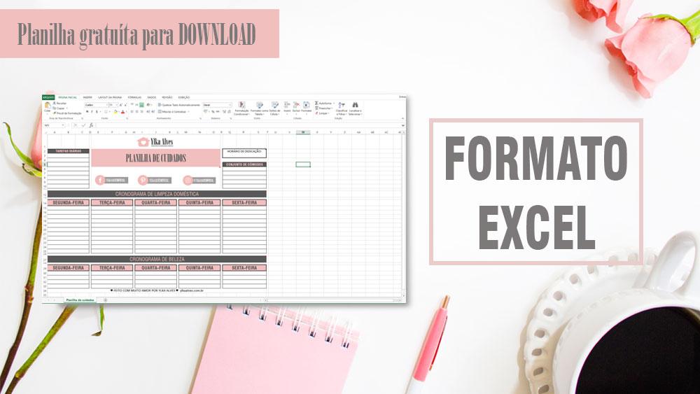Formato em Excel