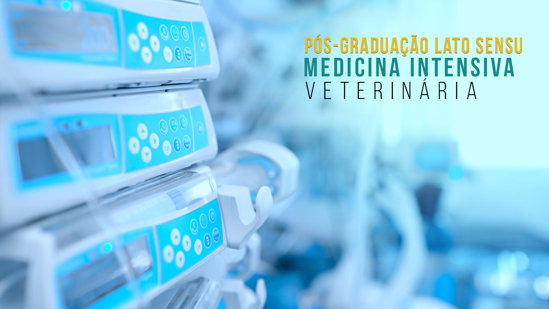 Pós Graduação em Medicina Intensiva Veterinária