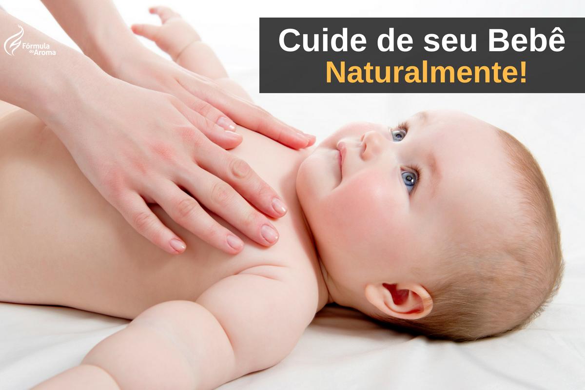 7 Óleos Essenciais Seguros para seu Bebê e Como Usá-los