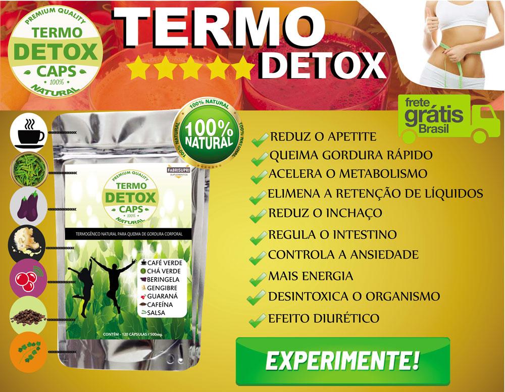 TERMO DETOX - Emagreça de Vez - Perder Peso, Perder gordura