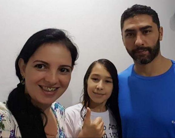 Teteus Bionic e Patricia Moraes