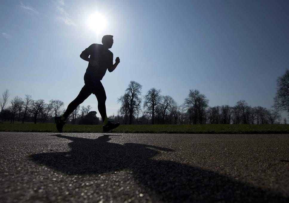 Corrida de rua maratona