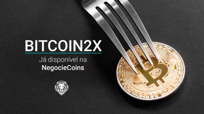 A NegocieCoins entrega e comercializa o Bitcoin2x